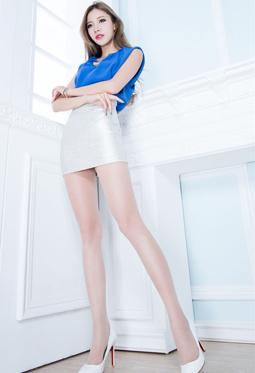 欧美风格美女性感丝袜美腿写真照